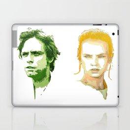Luke Skywalker and Rey Laptop & iPad Skin