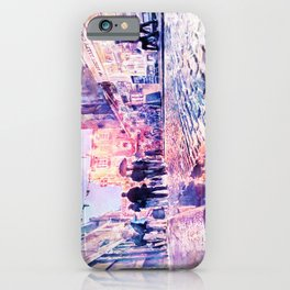 Dublin Watercolor Streetscape iPhone Case