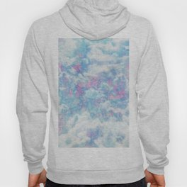 Blue Pink Attractions Hoody