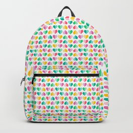 Pastel Sweetheart Valentines Backpack