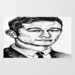 Joseph Gordon-Levitt drawing Rug