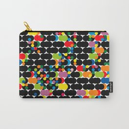 DOTS - polka 1 Carry-All Pouch