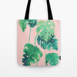 tropical pink Tote Bag