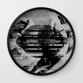 A KIND OF SELFISHNESS Wall Clock