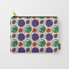 Round leaves Carry-All Pouch
