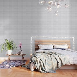 Light Grey Wood Lattice Wallpaper