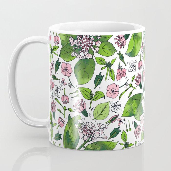 hydrangea botanical print Coffee Mug