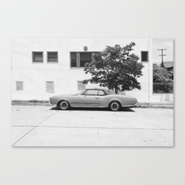 Soloparking #1 Canvas Print