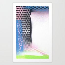 abstract series 6 no3 Art Print