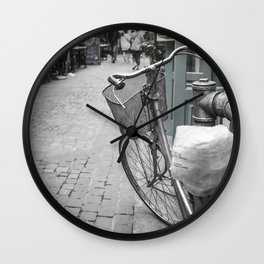 Let's take a ride Wall Clock