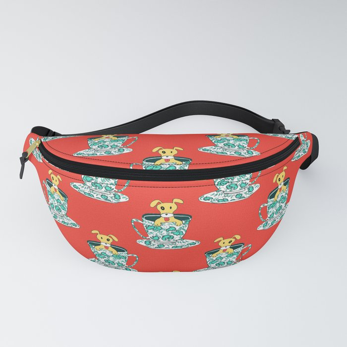 Dinnerware Sets - puppy in a teacup Fanny Pack