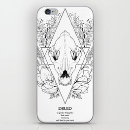 Plant Secrets: Druid class iPhone Skin