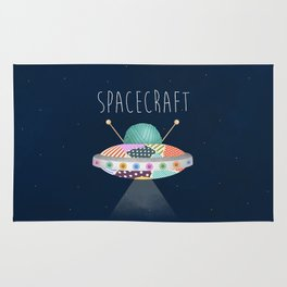 Spacecraft Rug