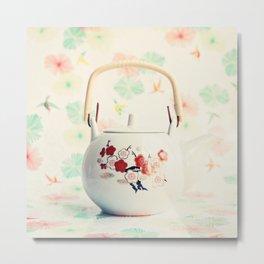 Japanese Teapot Metal Print