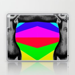 Body with Rainbow Laptop & iPad Skin