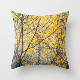 trees IX Throw Pillow