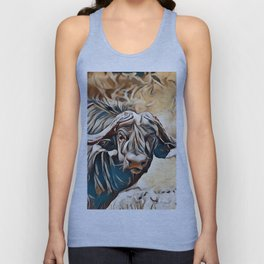 Cape buffalo Unisex Tank Top