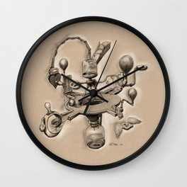 Bitter Resistance - Imagery Contraption Wall Clock