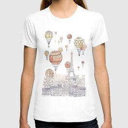 Voyages Over Paris ~ Refresh T-shirt