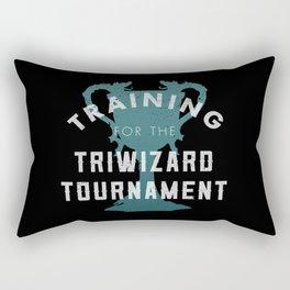 Training: Triwizard  Cup Rectangular Pillow
