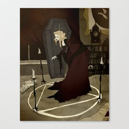 Til Death Do Us Part Canvas Print
