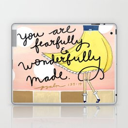 Fearfully and Wonderfully Made Laptop & iPad Skin