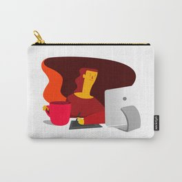 Working illustration Carry-All Pouch