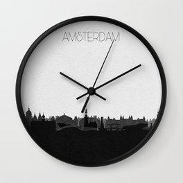 City Skylines: Amsterdam Wall Clock
