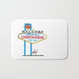 Welcome to Cheektavegas Bath Mat