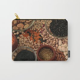 Dried legumes. Carry-All Pouch