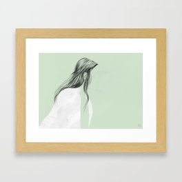 On the go - Ear Tuck No.2 Framed Art Print