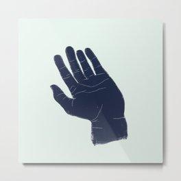 Shrug Metal Print