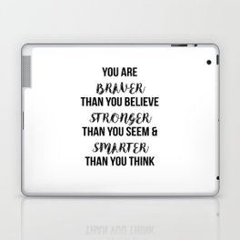 You Are More Than You Think Laptop & iPad Skin