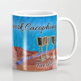 Five of Cups (mug) Coffee Mug