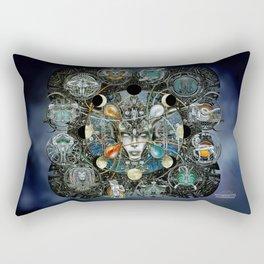 """""""Astrological Mechanism - Zodiac"""" Rectangular Pillow"""