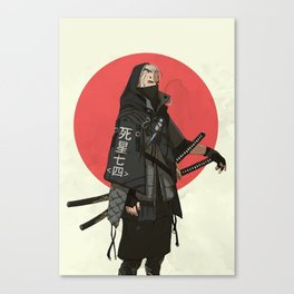 The Witcher - Japan Canvas Print