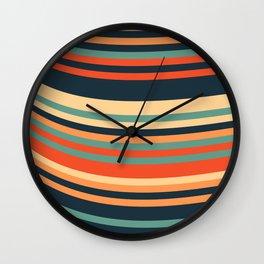 Calm Summer Sea Wall Clock