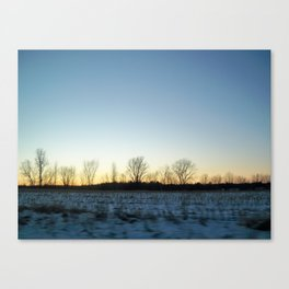 North Country, photo by S.A. Rivera Canvas Print