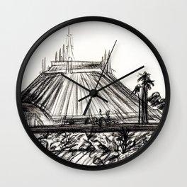 Space Mountain Wall Clock
