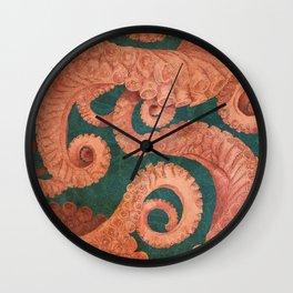 Octopus 1 Wall Clock