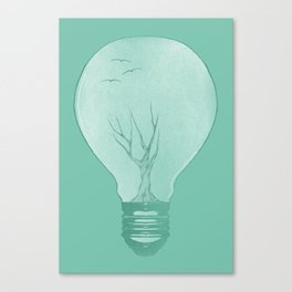 Ideas Grow 2 Canvas Print