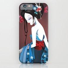 Geisha la blanche iPhone 6s Slim Case