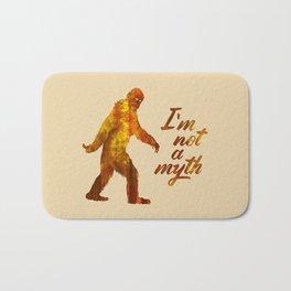 """Big Foot """"I'm not a Myth"""" Bath Mat"""