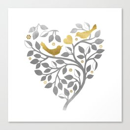 Love Branch Canvas Print