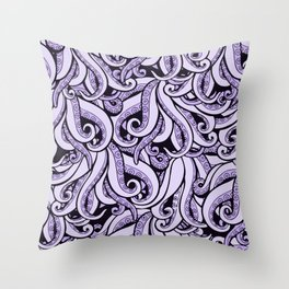 Ursula The Sea Witch Inspired Throw Pillow