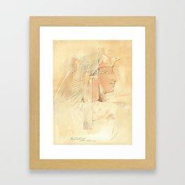 Queen Ahmose by Howard Carter Framed Art Print