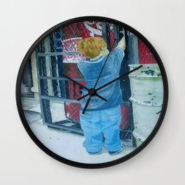 Long Reach Wall Clock