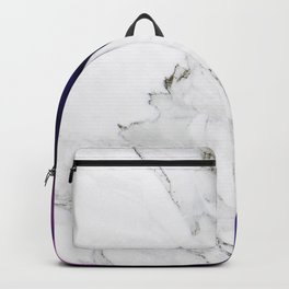 Galaxy Alien on Marble - tumblr trendy Backpack
