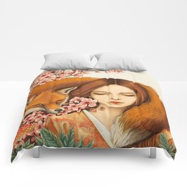 Red Fox - Totem Comforters
