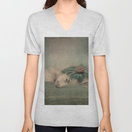 A man, the sea and a dream Unisex V-Neck